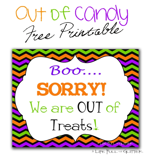 Out of candy1