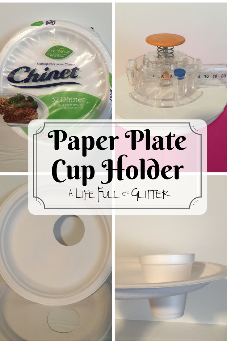 Paper Plate Cup Holder.png : cup holder plate - pezcame.com